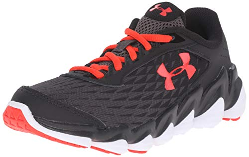 172543ff2c3d8 Galleon - Under Armour Boys Grade School UA Micro G Spine Disrupt Running  Shoes 7 Charcoal