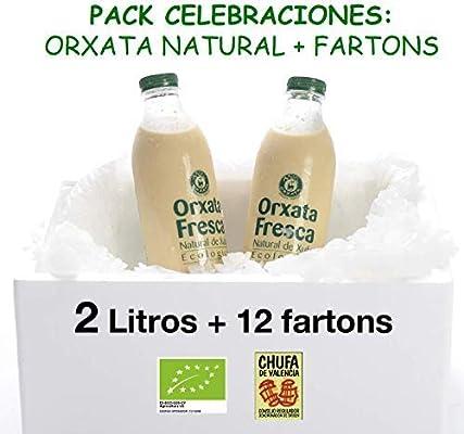 Pack celebraciones: 2 litros de Horchata Natural Ecológica y 13 ...