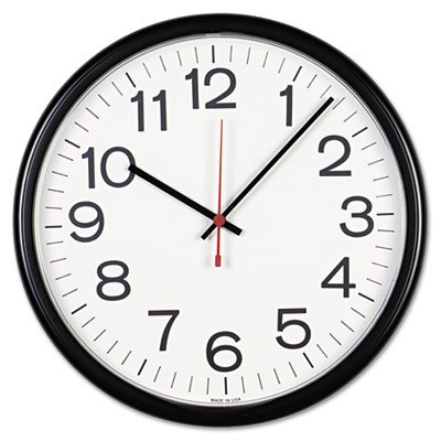 - Universal Indoor/Outdoor Clock, 13 1/2