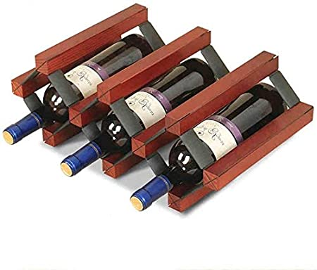 Estante Para Vino Estante Para Botellas Estante Para Almacenamiento Estante Para Vino Estante Para Vino De 5 Botellas Estante Multifuncional Para Vino Estante Para Colgar Copa Vinotecas Copas De Vino