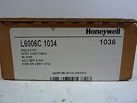 honeywell l6006c 1034 aquastat controller amazon com industrial rh amazon com