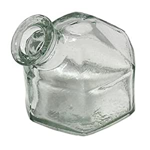 Parasol Replacement Classic Hexagonal Bottle, Clear