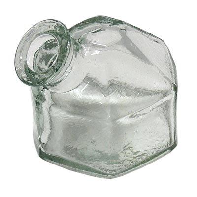 Parasol Replacement Classic Hexagonal Bottle, Clear -