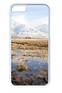 iPhone 6 Case - Marsh 2 Illustrators Series Protective Hard White Case Cover Skin For iPhone 6 (4.7 inch)