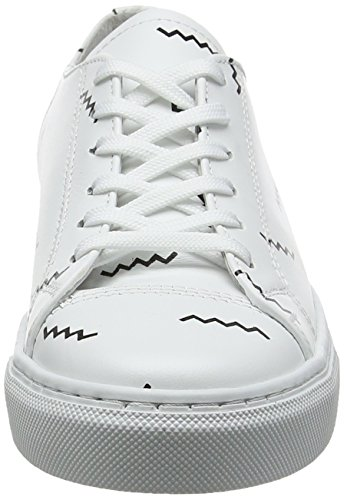 Shoes Shoe White Aop Mixte Basses Alex Wood Adulte white THqwzz