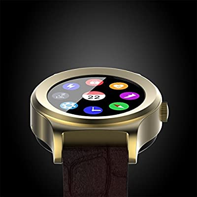 Activity Tracker Smart Watch Fitness Tracker with Heart Rate Monitor IOS Bluetooth Camera Music Stopwatch/Remote All-in-1