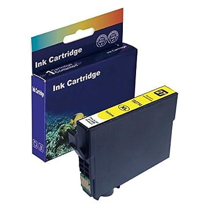 D & C Cartuchos de impresora (No Original) para Epson Workforce WF ...