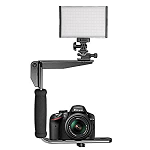 Neewer Quick Flip Rotating Flash Bracket for Digital SLR Cameras Point and Shoot Cameras and Speedlight Flashes by Neewer