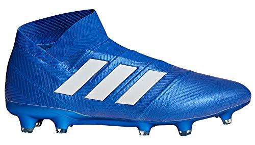 adidas Nemeziz 18+ FG Cleat Men's Soccer 9.5 Blue-White