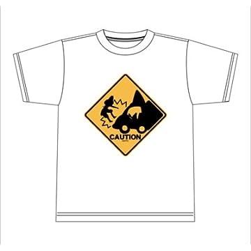 けものフレンズ あぶないよー! Tシャツ ホワイト