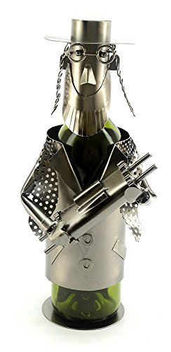 Jewish Rabbi With Torah Wine Bottle Holder Character - Rabbi Wine Bottle