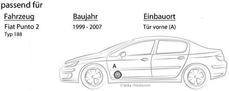 Lautsprecher Boxen Jvc Cs J610x 16cm Auto Einbauzubehör 300watt Koaxe Kfz Pkw Paar Einbauset Für Fiat Punto 2 188 Front Just Sound Best Choice For Caraudio Navigation