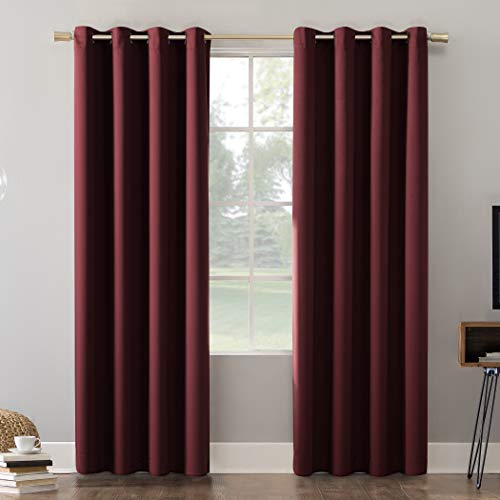 Sun Zero Oslo Theater Grade Extreme 100% Blackout Grommet Curtain Panel, 52