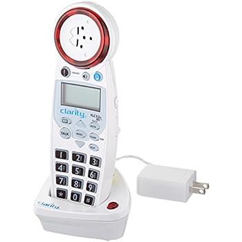 Amazoncom Clarity Clarity XLC34 Hearing Loss Cordless Phone