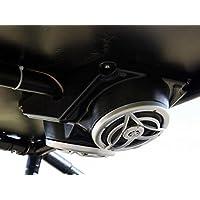 Super ATV Polaris RZR Overhead Dual 6.5 Speaker Enclosure #SE-P-RZR