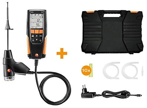 Testo 0563 3110 310 Combustion Analyzer Kit with Printer (Flue Gas Analyzer)