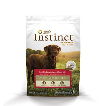 Nature's Variety Instinct Grain-Free Beef & Lamb Meal Formula Dry Dog Food