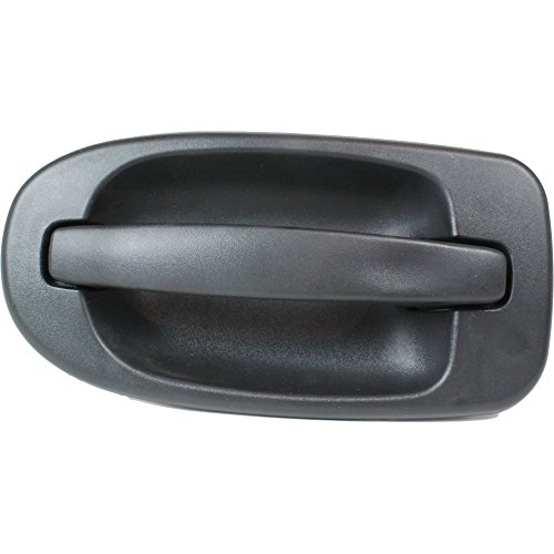 Exterior Door Handle compatible with VENTURE 97-05 / Chevy Uplander 05-09 Rear RH Outside Side Sliding Door Textured Black