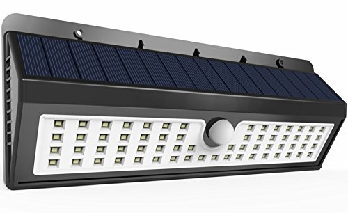 Solar Powered Pond Lights (62 LED Solar Light, Perfectday 62 LED Outdoor Wireless Solar Powered Motion Sensor Light Ponds Accent Lighting Decor Lamp with Three Intelligent)
