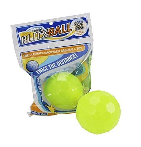 BLITZBALL Plastic Baseball (2 Pack) ()