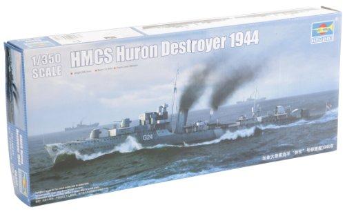 Trumpeter Hmcs Huron Destroyer 1944 Model Kit