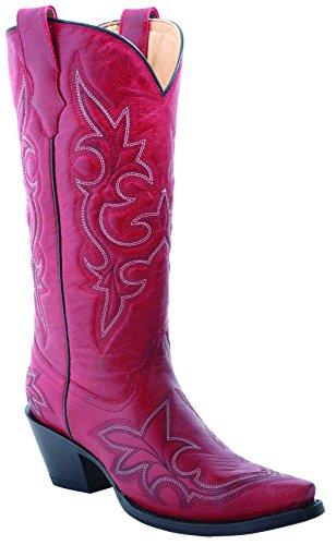 Corral Womens Desert Red Vintage Western Cowboy Boot