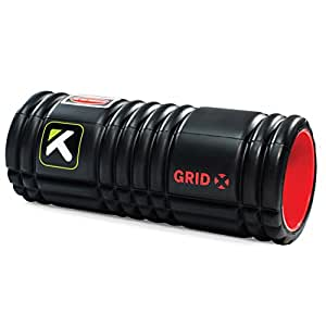 TriggerPoint GRID Foam Roller with Free Online Instructional Videos, X Extra Firm (13-inch)