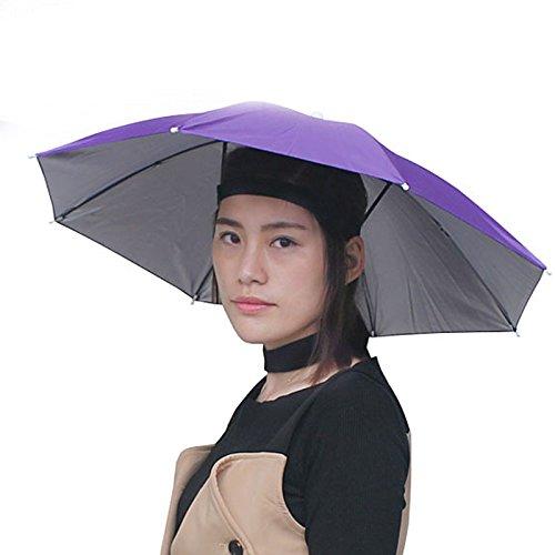 - Head Headband Umbrella Hat, Folding Headwear 26