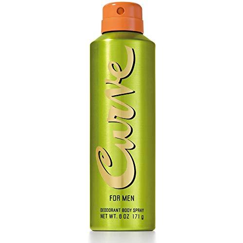 (Curve for Men Deodorant Body Spray 6.0 OZ)