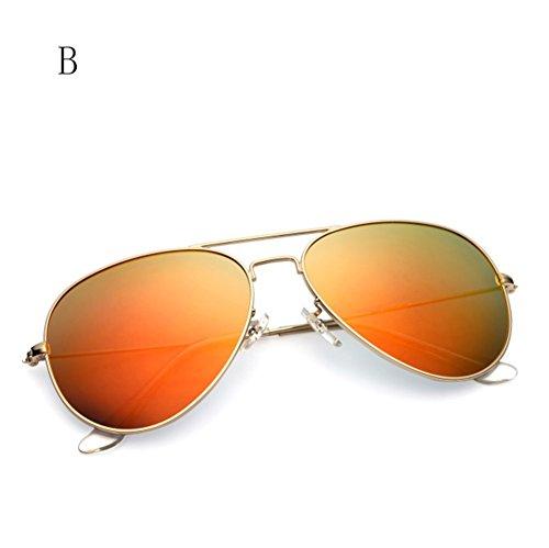 La Sol De Gafas De Aire del Polarizadas Gafas Conductor Color de Sol De Espejo Libre Gafas B De FZG Sol La Rana Los De Hombres C Moda al TOWzqqv