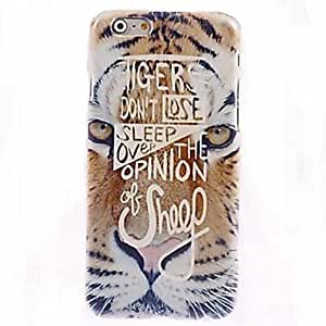GJY Yellow Tiger Pattern Case for iPhone 6