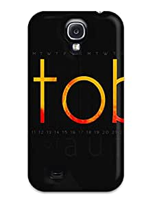 3725737K96442516 New Calendar Tpu Skin Case Compatible With Galaxy S4
