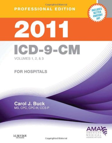 2011 ICD-9-CM, for Hospitals, Volumes 1, 2 and 3,...
