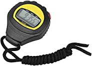Sport Stopwatch Timer, Multifunctional Portable Handheld Digital Fitness Sport Stopwatch Timer for Home School