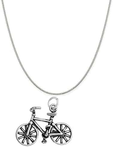 Mireval Sterling Silver Anti-Tarnish Treated Non-Enameled Attachable Emblem Medical Charm