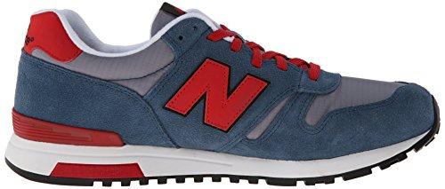 888546361058 - New Balance Men's Ml565 Lifestyle Running Shoe,Blue/Red, 10.5 D US carousel main 6