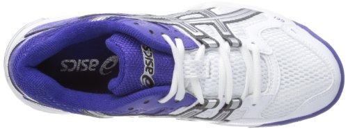 Asicsgel Mujer de W de Lightning Royal Rocket Deportes Blue Interior Blanc White Blanco Zapatillas R4w06Rqfxr