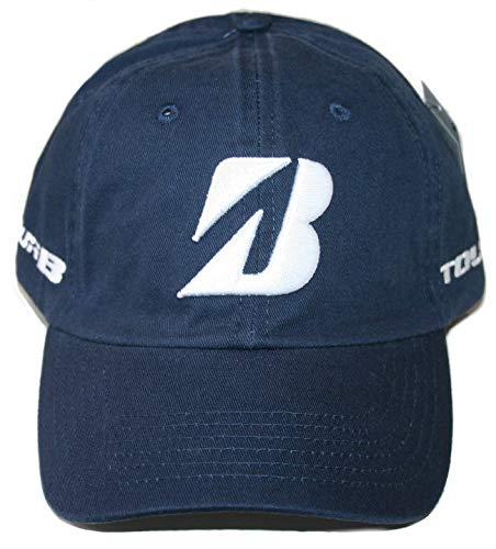 Bridgestone Cap - Bridgestone Golf 2019 Tour B Relax Cap Hat, Adjustable Closure, Navy