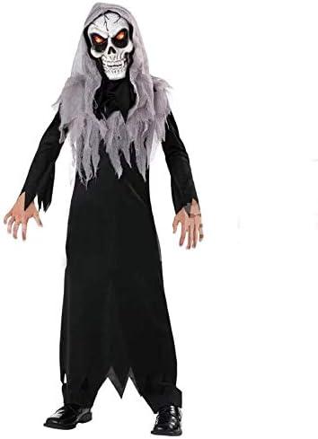 con Maschera Luminosa Forever Young Costume di Halloween per Bambini