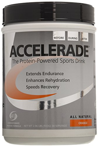 Accelerade All Natural Protein-Powered Sports Drink Mix - 30 (Accelerade Fruit Punch)