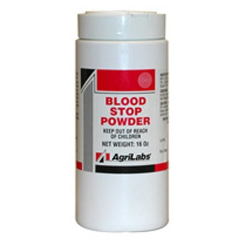 2-bottles-blood-stop-powder-talc-first-aid-medical-treatment-wound-clotting-horses-cows-dogs