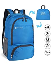ComfyDegree - Packable Ultralight Hiking Backpack, Foldable Lightweight Multi-Functional Casual Camping Trekking Rucksack Cycling Travel Climbing Mountaineer Outdoor Sport Daypack Bag