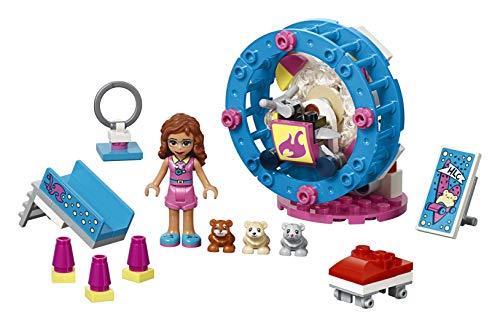 LEGO Friends Olivia's Hamster Playground 41383 Kit de construcción, 2019 (81 piezas)