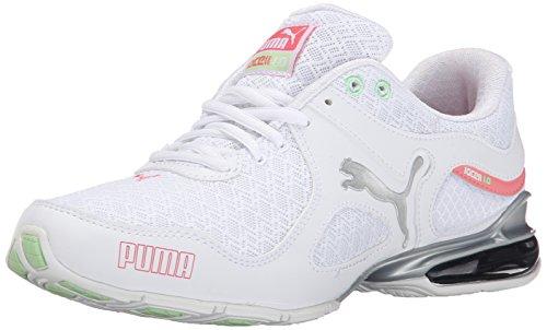 PUMA Womens Cell Riaze Wns Em Sneaker White Puma/Silver