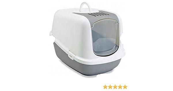 Arenero cubierto grande XXL, tiene una abertura superior para una limpieza rápida y fácil, un interior espacioso, ideal para gatos muy grandes: Amazon.es: ...