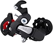 Bike Rear Derailleur, ycle Speed Transmission Cycling Speed Accessory Replacement for Road Mountain Bike 7 Spe