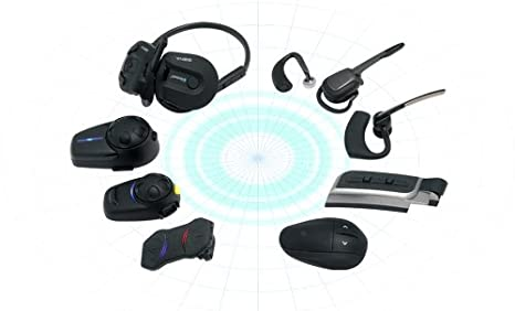 Amazon Sena SMH5D 02 Low Profile Motorcycle And Scooter Bluetooth Headset Intercom For Full Face Helmets Dual Automotive