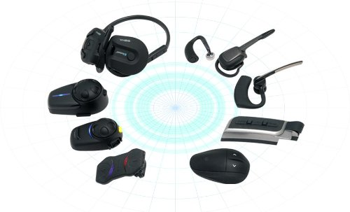 sena smh5 02 low profile motorcycle and scooter bluetooth headset intercom for full face. Black Bedroom Furniture Sets. Home Design Ideas