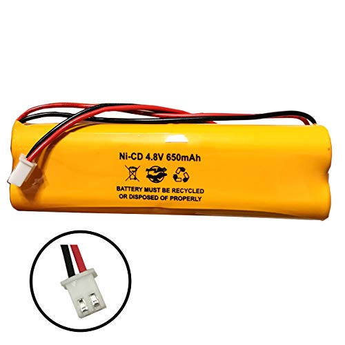 E1021R All Fit EJW-NI-CAD LITHONIA D-AA650Bx4 DAA650Bx4 BYD D-AA650B DAA650B 4.8v 650mah Ni-CD AA Battery Pack Exit Sign Emergency Light Batteryhawk, LLC Fire Exit 650 Mah Replacement Battery