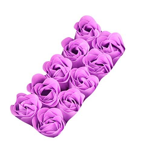 (OrchidAmor Scented Bath Body Petal Rose Flower Soap Wedding Decoration Gift Best)